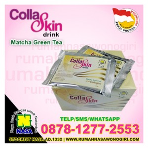 collaskin drink matcha green tea