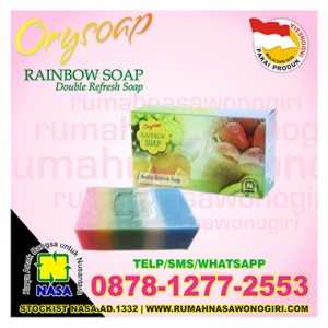 orysoap rainbow soap
