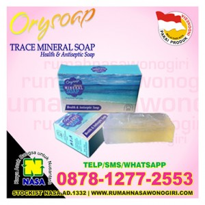 orysoap trace mineral soap