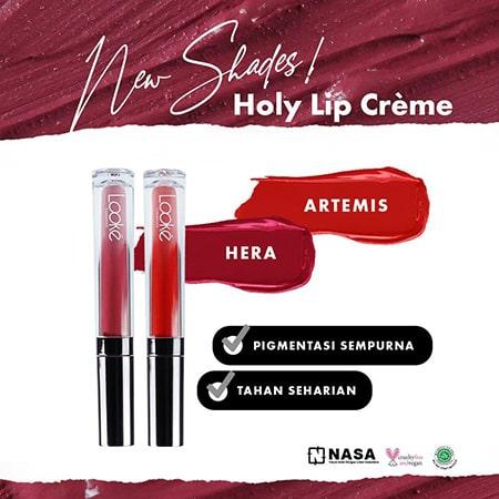 LOOKE Holy Lip Creme artemis hera banner