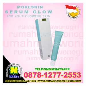 moreskin serum glow nasa